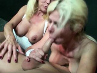 Three German Mom Fuck Stranger at Party in Swingerclub