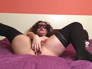 Extremely Sexy and Sensual Double Penetration with dildos.