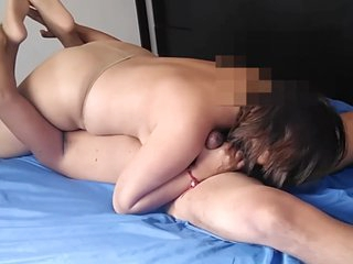 Pantyhose Sex, Facesitting Squirting Pussy, Extreme Blowjob, Sexy NylonFeet