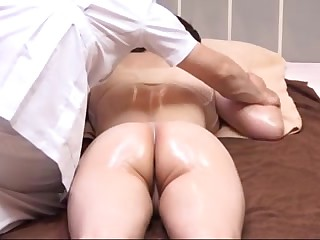 Husband Watches Japanese Wife Get a Naughty Massage - 2