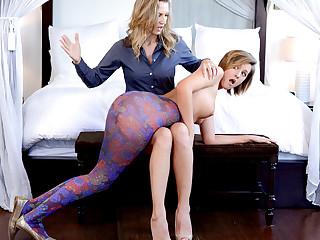 Bailey Bae & Alina Long in All day long - MomsLickTeens