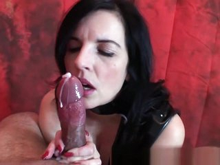 Fabulous Amateur record with Big Dick, Handjob scenes