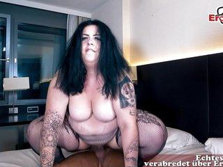 german chubby fat horny housewife at public pick up EroCom Date on street flirt