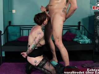 german skinny tattoo milf daughter seduced brother