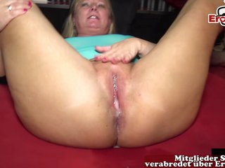 german creampie mother at brutal gangbang party