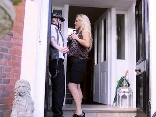 Kinky talk mom handjob Having Her Way With A Rookie