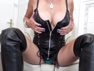My Black Leather Thigh Boots Pt1 - TacAmateurs