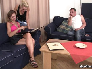 Daughter Watches Mom Having Sex