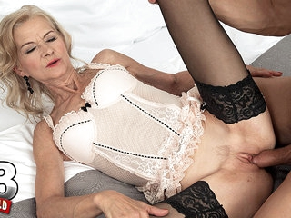 Beata's Pussy Is Loud When It's Getting Fucked - Beata And George Lee - 60PlusMilfs