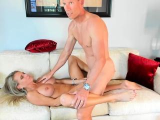 Busty Blonde MILF Likes It Hardcore