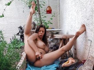 Alexis' Dildo Harvest Free Video With Alexis Fawx - Brazzers