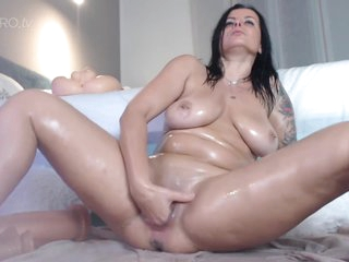 Double Dildos In My Arse - Butt Fucking