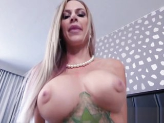 Jealous Blonde Big Tits Step Mom Fucked By Step Son POV