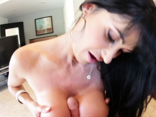 Faketits milf tittyfucking a big dick