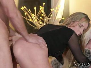 MOM Blonde bombshell MILF worships the cock that fucks her